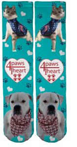 4 Paws Crew Socks