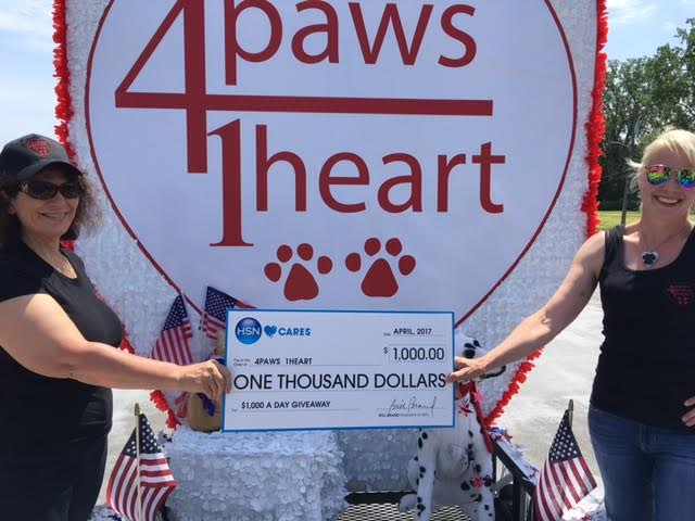 Thank You to HSN Cares | 4 Paws 1 Heart