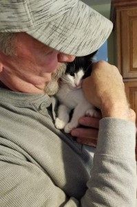 milo and domino w:dad